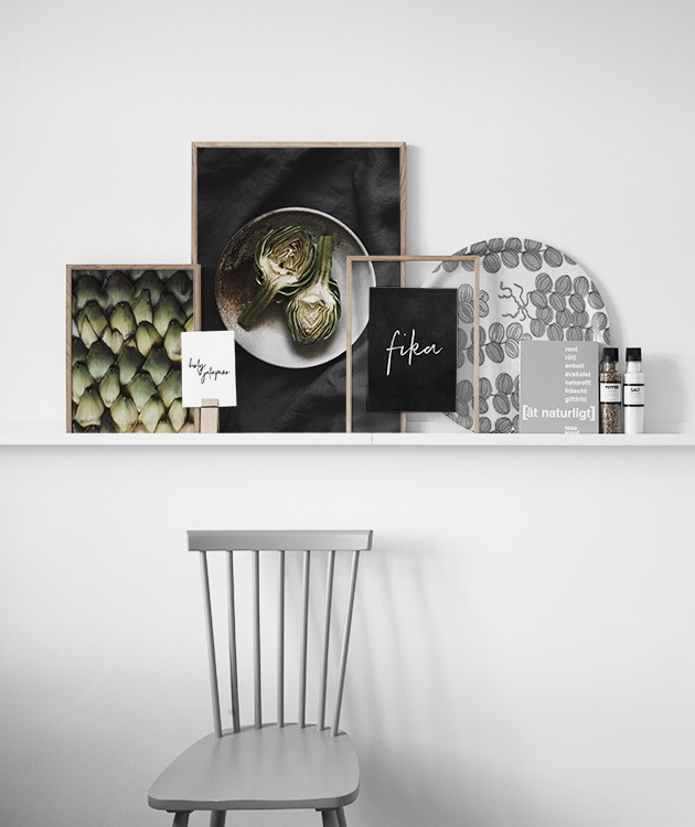 interiorlicious collage in de keuken