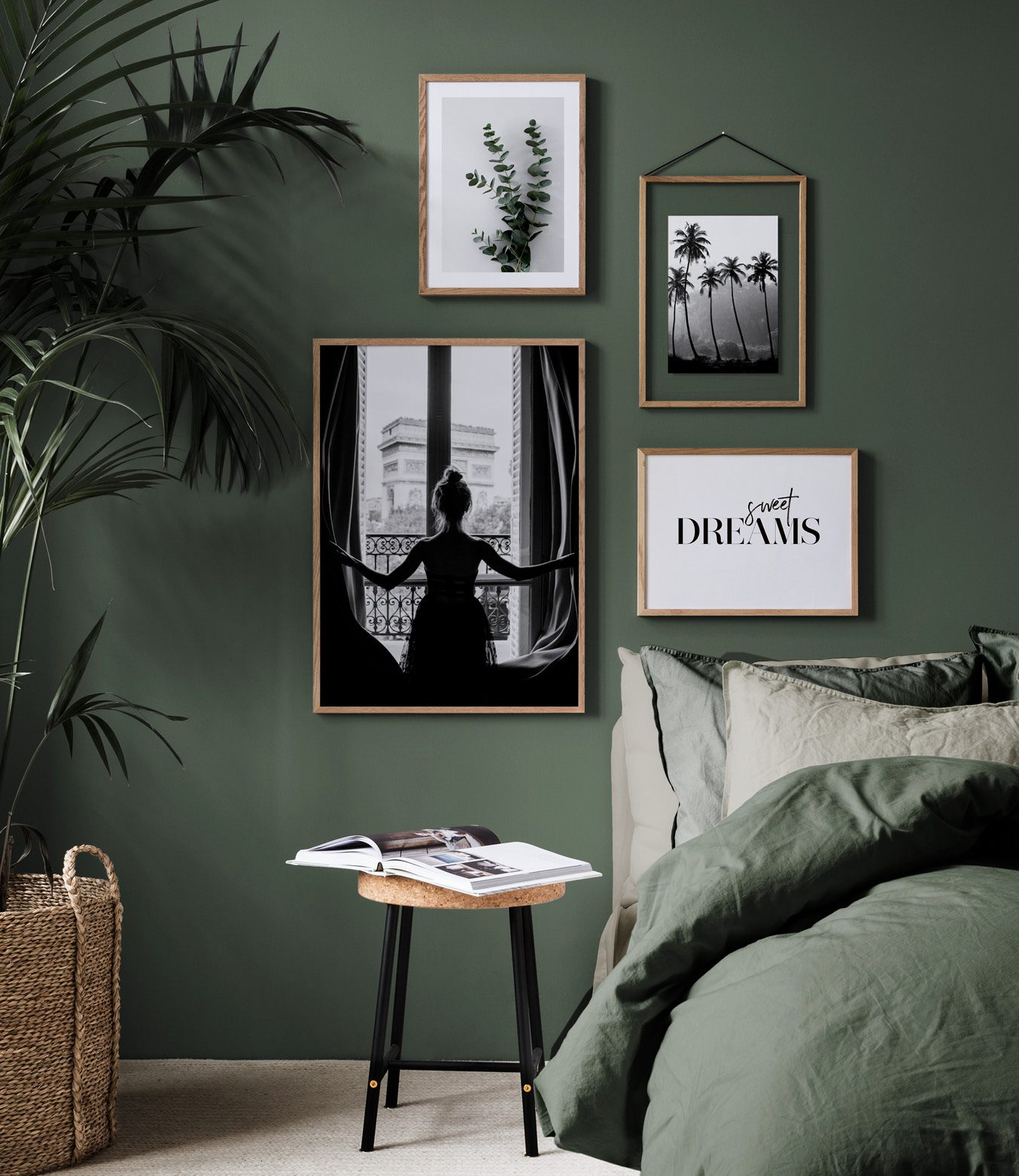 interiorlicious collage in de slaapkamer
