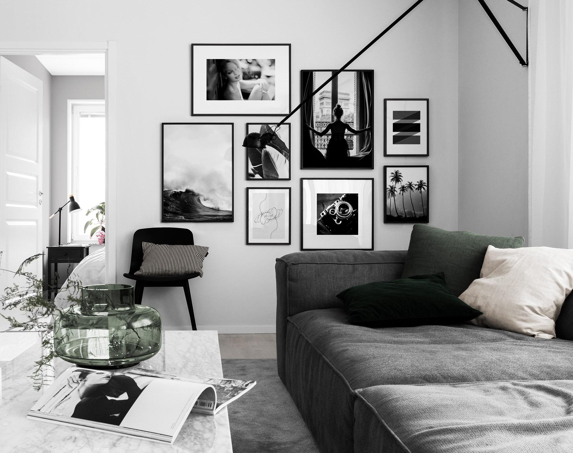 interiorlicious collage in de woonkamer