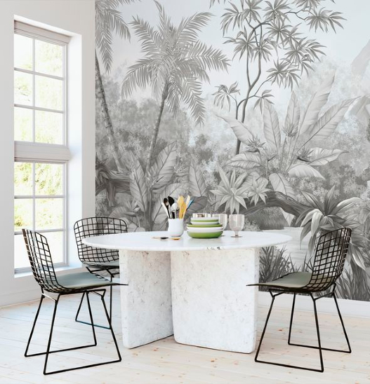 Photowall Sweden PWB Tangled Jungle Behang Hashtag Interieur